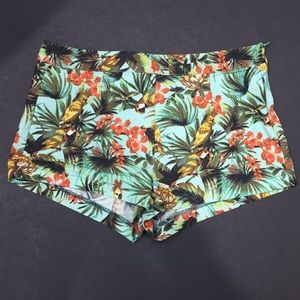Tropical High Rise Shorts